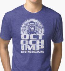 Octochimp Designs Tri-blend T-Shirt