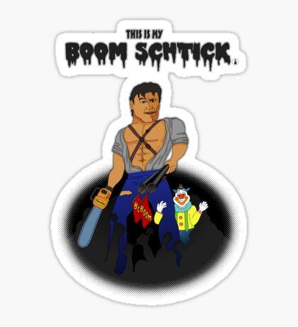 This is my Boom Schtick Sticker