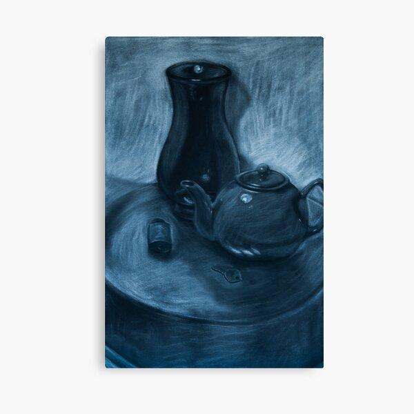 The Key To Tea Canvas Print