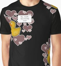 ♥ Rubber Ducky ♥ -girly Graphic T-Shirt