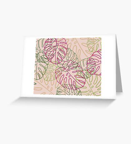 Leaves Carte de vœux