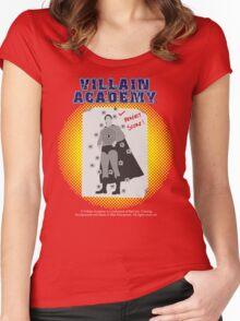 Villain Academy Women's Fitted Scoop T-Shirt