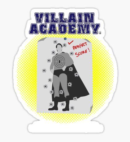 Villain Academy Sticker
