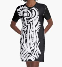 Clear Swing Graphic T-Shirt Dress