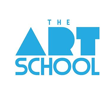 The Art School - Sticker Blue by MotionDan