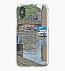 Skipton Canal, Yorkshire iPhone Case/Skin