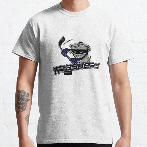 Danbury Trashers Hockey Logo 2 Classic T-Shirt