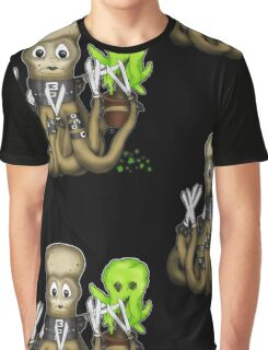 Eduardo Scissor Tentacles Graphic T-Shirt