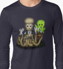 Eduardo Scissor Tentacles Long Sleeve T-Shirt