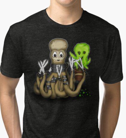 Eduardo Scissor Tentacles Tri-blend T-Shirt