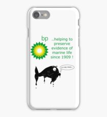 BP - just trying to help out iPhone Case/Skin