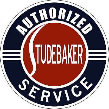 Authorized Studebaker Service vintage sign by htrdesigns
