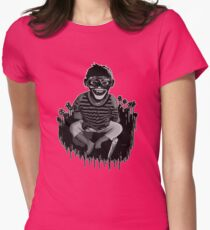 Monkeys ... always up to no good ... Women's Fitted T-Shirt