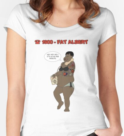 1800 FAT ALBERT Women's Fitted Scoop T-Shirt