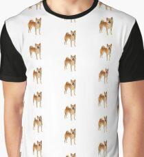Shibe pattern Graphic T-Shirt