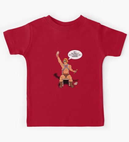 By the power of Ginger Skull ! Kids Clothes
