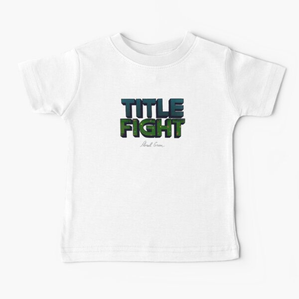 Floral Green Baby T-Shirt