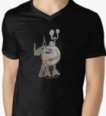 Asimo the cookie-bot Men's V-Neck T-Shirt