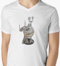 Asimo the cookie-bot Men's V-Neck T-Shirt