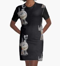 Asimo the cookie-bot Graphic T-Shirt Dress