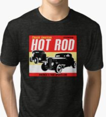 Hot Rod - Classic American Sports Car Tri-blend T-Shirt