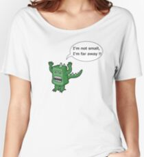 I AM NOT SMALL ! Women's Relaxed Fit T-Shirt