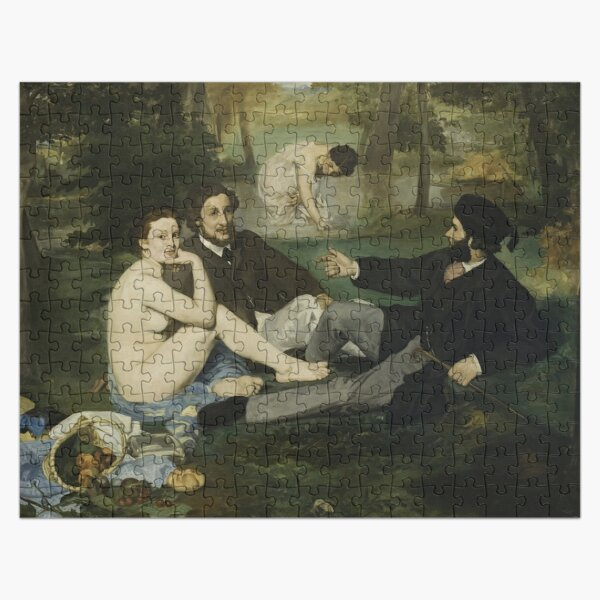 Édouard Manet  - The Luncheon on the Grass (1863) Jigsaw Puzzle