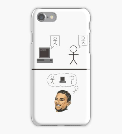 Turing Test iPhone Case/Skin