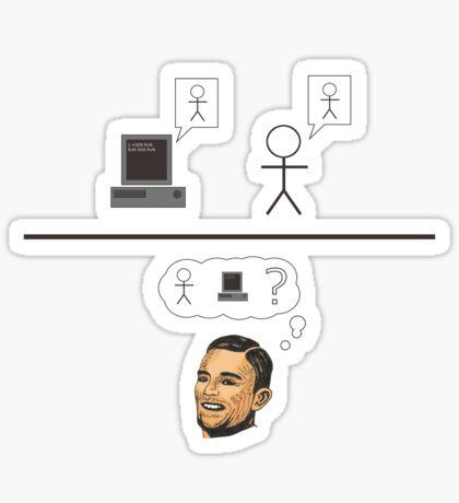 Turing Test Sticker