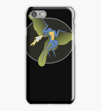 Archaeopteryx (the fire breathing kind) iPhone Case/Skin