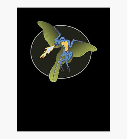 Archaeopteryx (the fire breathing kind) Photographic Print