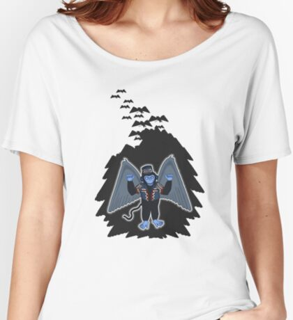 whatever happened to those cute flying monkeys? Women's Relaxed Fit T-Shirt