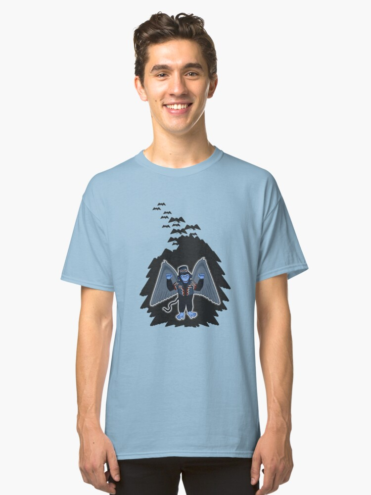 whatever happened to those cute flying monkeys? Classic T-Shirt Front