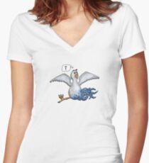 Roger Women's Fitted V-Neck T-Shirt