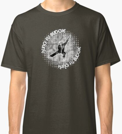 Budgie Style Kung Fu Classic T-Shirt