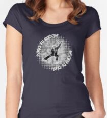 Budgie Style Kung Fu Women's Fitted Scoop T-Shirt