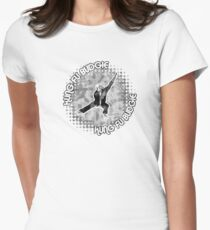 Budgie Style Kung Fu Womens Fitted T-Shirt