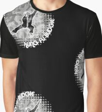 Budgie Style Kung Fu Graphic T-Shirt