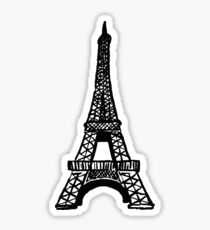 eiffel tower Sticker