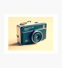 Agfamatic 100 - Old camera Art Print