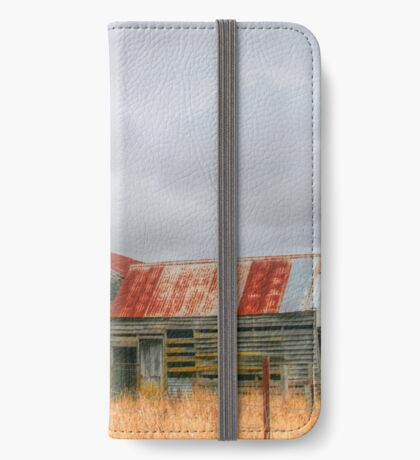 A lean to the left & a lean to the right iPhone Wallet