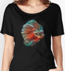 Irish Siamese Betta Fish Women's Relaxed Fit T-Shirt