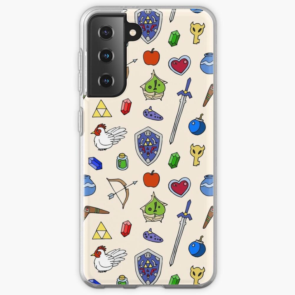 Zelda pattern Case & Skin for Samsung Galaxy