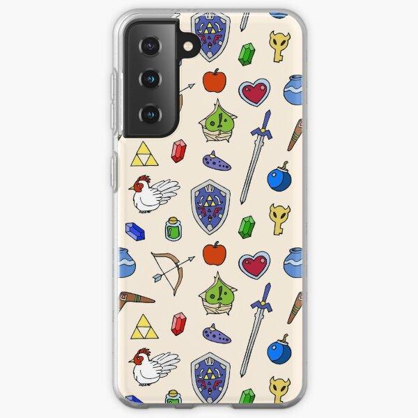Zelda pattern Samsung Galaxy Soft Case