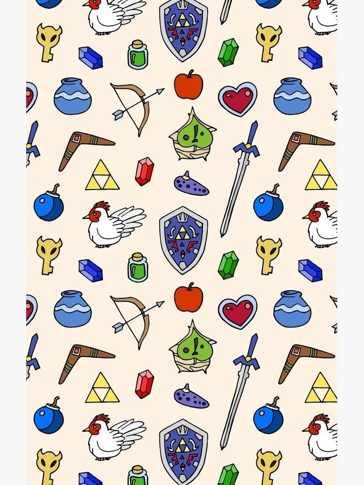 Zelda pattern by lor4rt