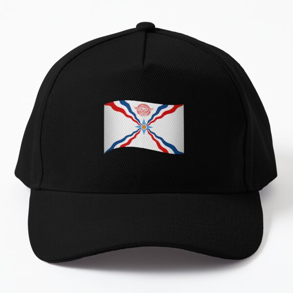 Wavy Assyrian Flag Baseball Cap