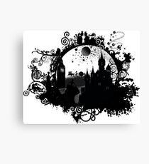 Think Cinderella Ink Canvas Print