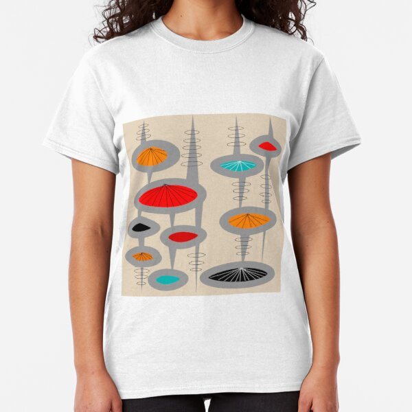 Atomic Era Inspired Art Classic T-Shirt