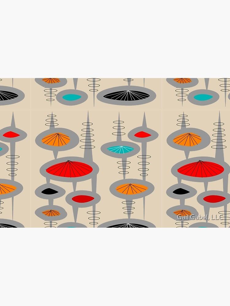Atomic Era Inspired Art by gailg1957