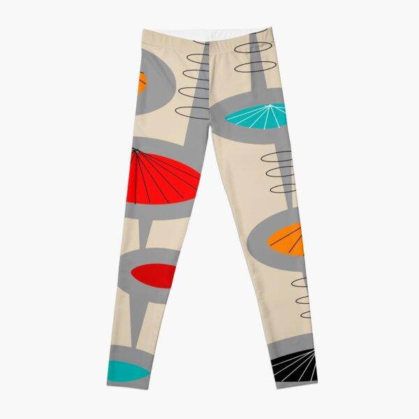 Atomic Era Inspired Art Leggings